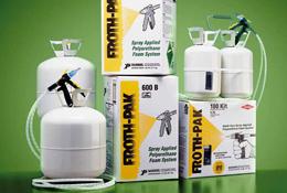 Froth pak kit de mousse polyur thane pr t l emploi - Kit mousse polyurethane projetee prix ...